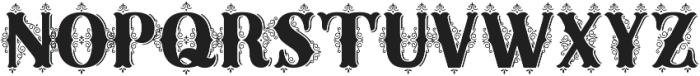 Sunday Best Fancy Illuminated ttf (400) Font UPPERCASE