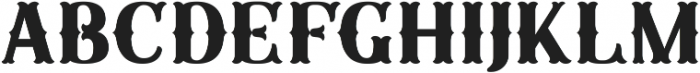 Sunday Best Fancy No Frills ttf (400) Font UPPERCASE