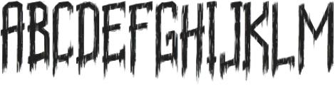 Sunday Nightmare otf (400) Font UPPERCASE