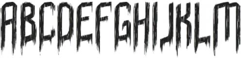 Sunday Nightmare otf (400) Font LOWERCASE