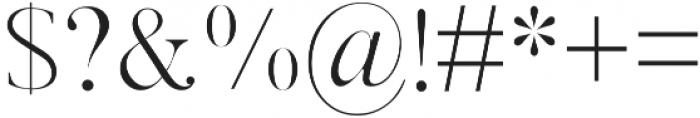 Sundays Regular otf (400) Font OTHER CHARS