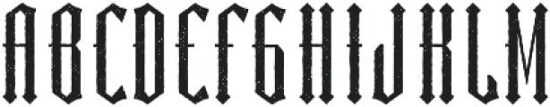 Sunderland Aged otf (400) Font UPPERCASE
