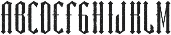 Sunderland Aged otf (400) Font LOWERCASE