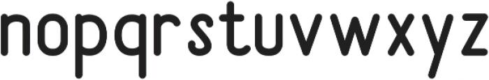 Sunderlines Sans otf (400) Font LOWERCASE