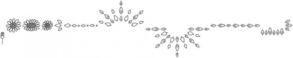 Sungarden Pics Camomile otf (400) Font LOWERCASE