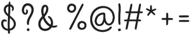 Sungarden Script otf (400) Font OTHER CHARS