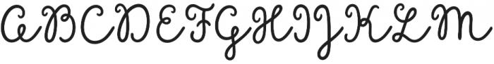 Sungarden Script otf (400) Font UPPERCASE
