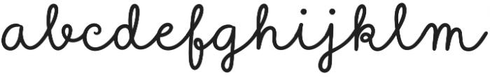 Sungarden Script otf (400) Font LOWERCASE