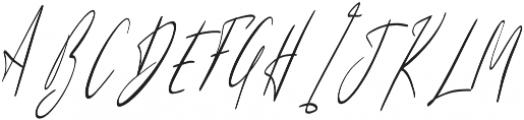 Sunlight Italic otf (300) Font UPPERCASE