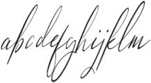 Sunlight Italic otf (300) Font LOWERCASE