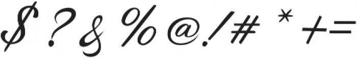 Sunlight Script Bold Regular otf (300) Font OTHER CHARS