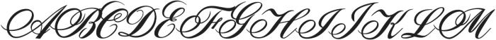 Sunlight Script Bold Regular otf (300) Font UPPERCASE
