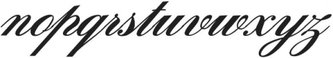 Sunlight Script Bold Regular otf (300) Font LOWERCASE