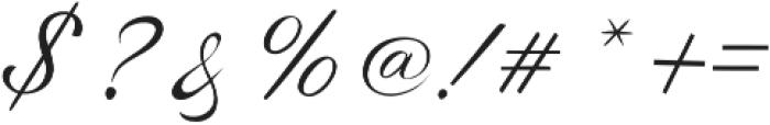 Sunlight Script Light Regular otf (300) Font OTHER CHARS