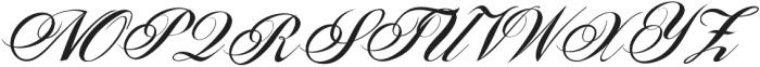 Sunlight Script Light Regular otf (300) Font UPPERCASE