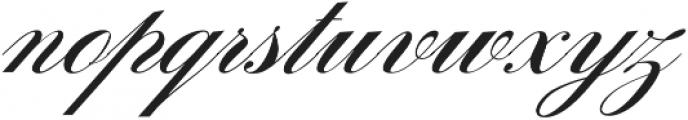 Sunlight Script Light Regular otf (300) Font LOWERCASE
