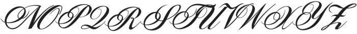 Sunlight Script otf (300) Font UPPERCASE