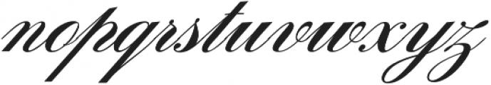 Sunlight Script otf (300) Font LOWERCASE
