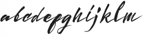Sunoise Script otf (400) Font LOWERCASE