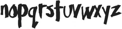 SunriseWaves otf (400) Font LOWERCASE