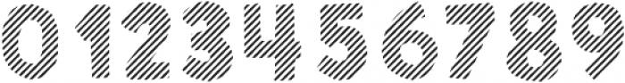 Sunshine Daisies Sans Stripes One otf (400) Font OTHER CHARS