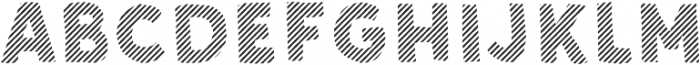 Sunshine Daisies Sans Stripes One otf (400) Font LOWERCASE