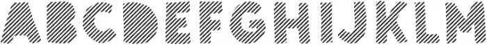 Sunshine Daisies Sans Stripes Two otf (400) Font UPPERCASE