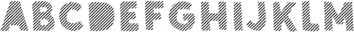 Sunshine Daisies Sans Stripes Two otf (400) Font LOWERCASE