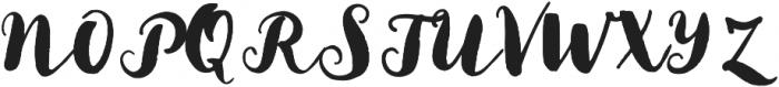 Sunshine Daisies Script otf (400) Font UPPERCASE