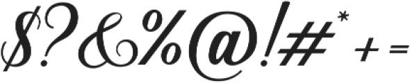 Sunshine Script otf (400) Font OTHER CHARS