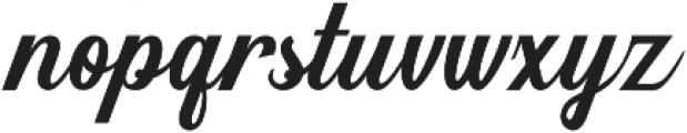 Sunshine Script otf (400) Font LOWERCASE