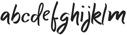 Super Black Regular otf (900) Font LOWERCASE