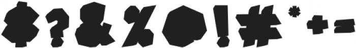 Super Color Regular otf (400) Font OTHER CHARS