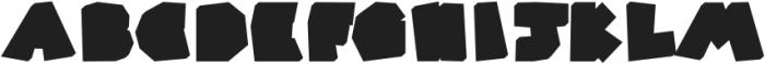 Super Color Regular otf (400) Font UPPERCASE