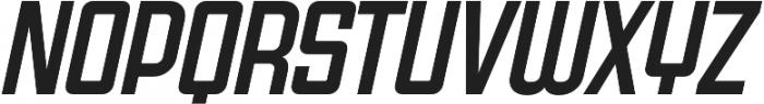 Super Deluxe Compressed Medium Italic otf (500) Font UPPERCASE