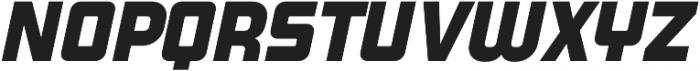 Super Deluxe Semibold Italic otf (600) Font UPPERCASE