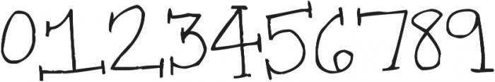 Super Serifs ttf (400) Font OTHER CHARS