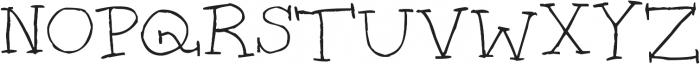 Super Serifs ttf (400) Font UPPERCASE