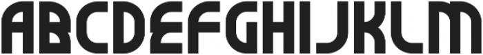 SuperBefok ttf (400) Font UPPERCASE