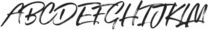 SuperFly One ttf (400) Font UPPERCASE