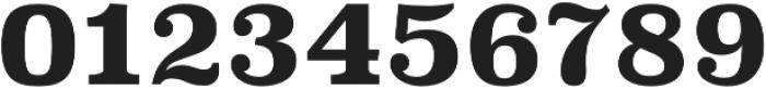 Superclarendon Bold otf (700) Font OTHER CHARS