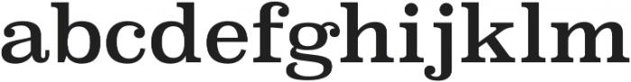 Superclarendon Regular otf (400) Font LOWERCASE