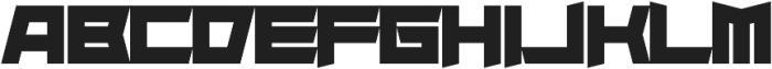 Superdie otf (400) Font LOWERCASE