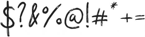 Superdry Script otf (400) Font OTHER CHARS