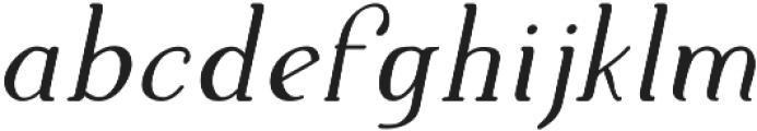 Supernova Bold Italic otf (700) Font LOWERCASE
