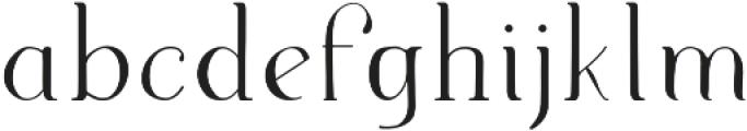 Supernova Regular otf (400) Font LOWERCASE