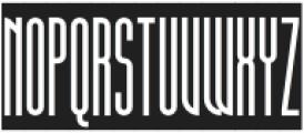 SuperstrettoBanner otf (400) Font UPPERCASE