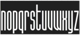 SuperstrettoBanner otf (400) Font LOWERCASE
