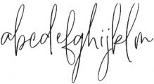 Supertight otf (400) Font LOWERCASE
