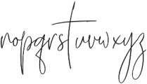 Supertight ttf (400) Font LOWERCASE